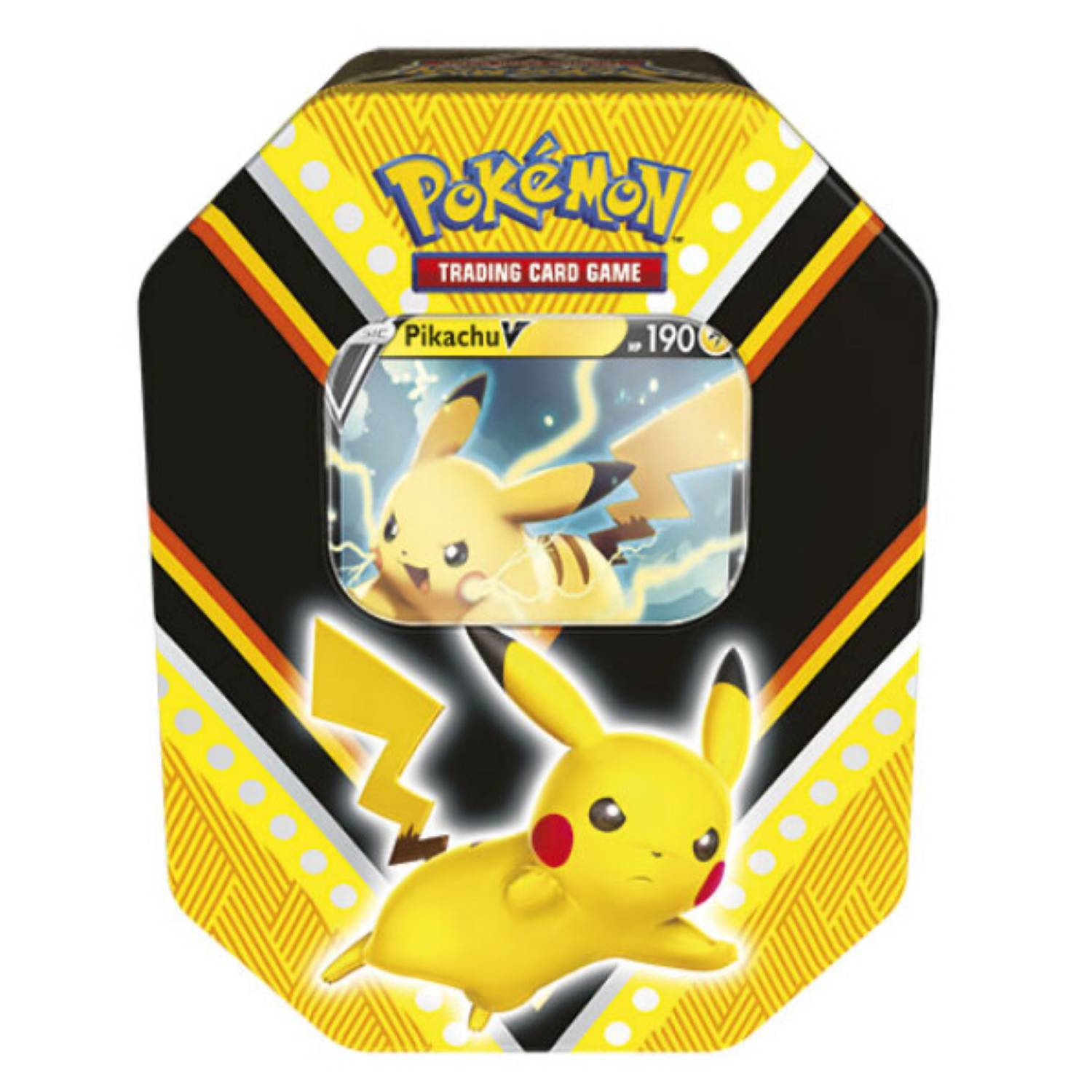 Puszka Pokemon TCG: Fall Tin 2020 - Pikachu 4x Booster