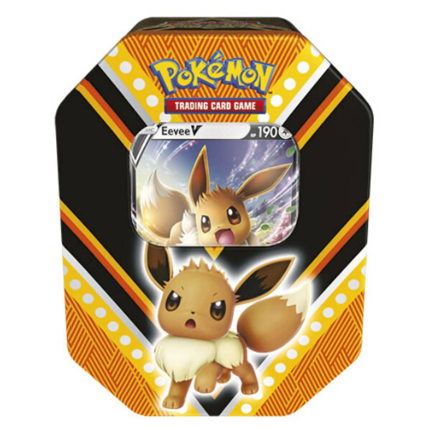 Puszka Pokemon TCG: Fall Tin 2020 - Eevee 4x Booster