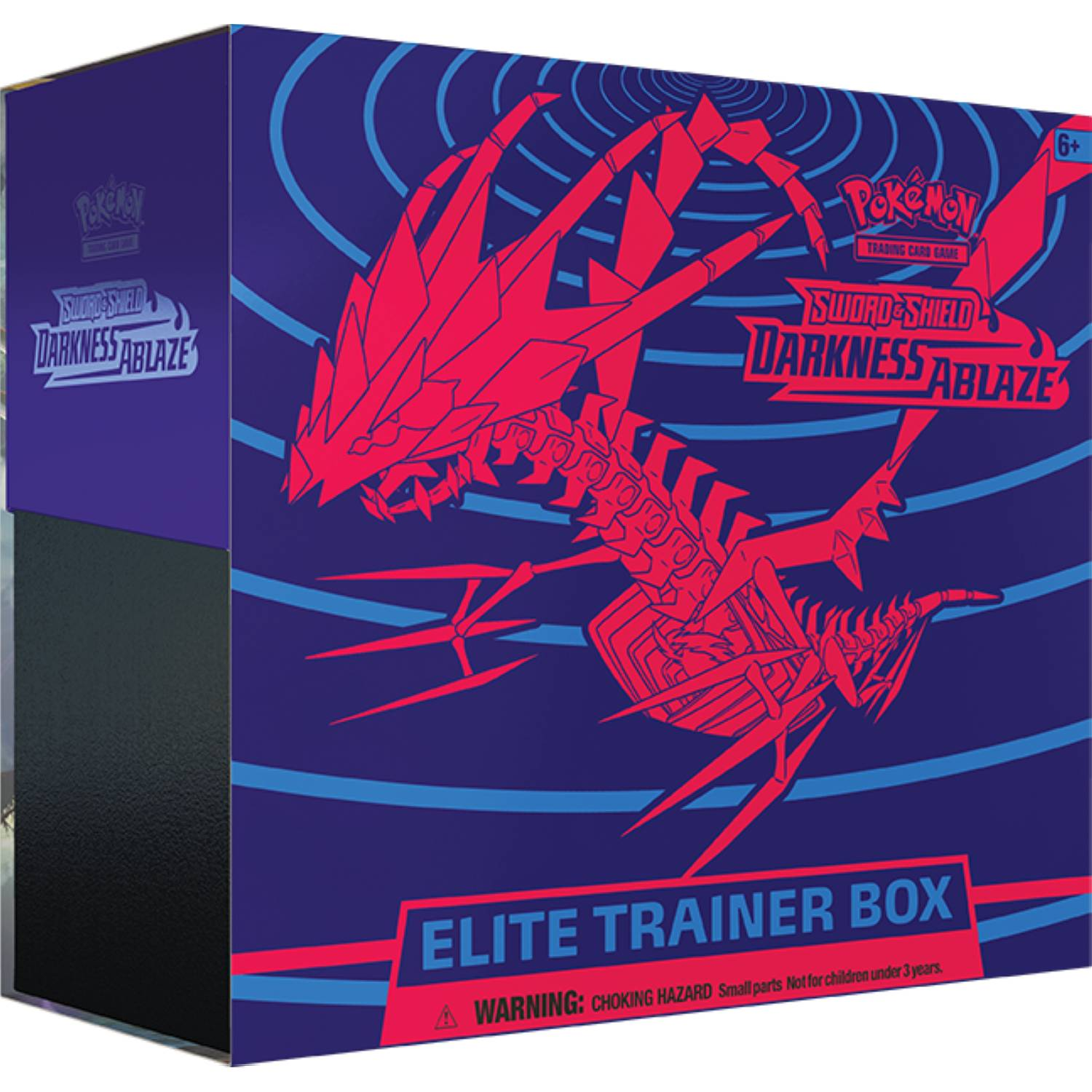 pokemon tcg elite trainer box darkness ablaze sword and shield