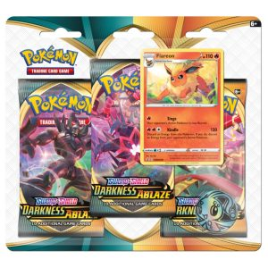 Pokemon booster pack Flareon
