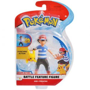 Figurka Pokemon Battle Ash Seria 1