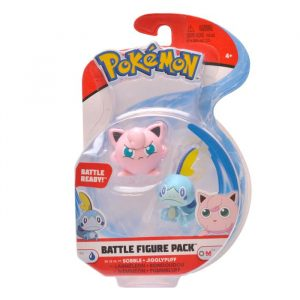 Figurki Pokemon Battle Jigglypuff & Sobble Seria 4