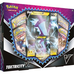 Zestaw kart Pokemon TCG: Sword and Shield - VBox Toxtricity