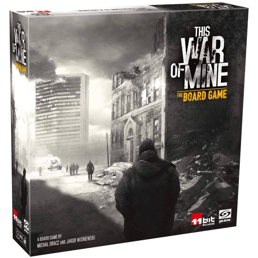 This War of Mine: The Board Game (Polska edycja) - Gra Planszowa