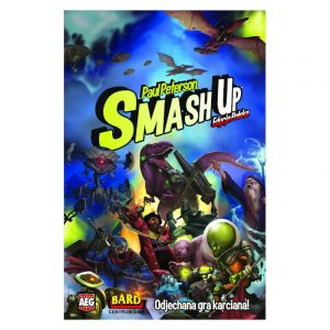 smash up odjechana gra karciana