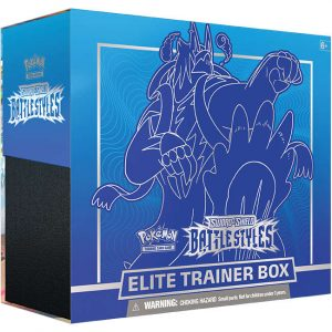 Karty Pokemon TCG: Battle Styles - Elite Trainer Box - Urshifu Rapid Strike