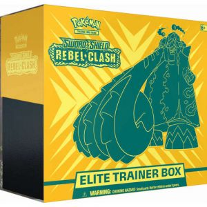 Karty Pokemon TCG: Sword & Shield - Rebel Clash - Elite Trainer Box