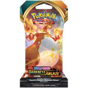 Karty Pokemon TCG: Sword & Shield 3 Darkness Ablaze Booster Sleeved