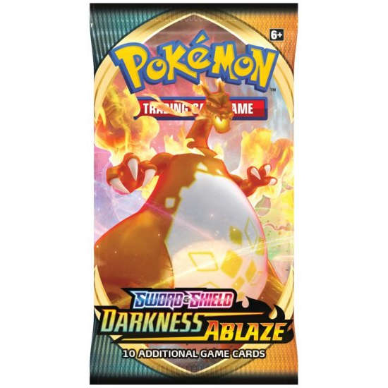 Karty Pokemon TCG: Sword & Shield 3 Darkness Ablaze Booster
