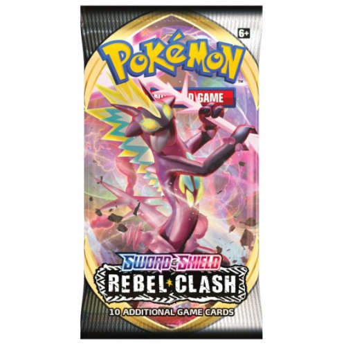 Karty Pokemon TCG: Sword & Shield 2 Rebel Clash Booster