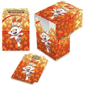 Pokemon: Pudełko na Karty TCG - Sword & Shield - Galar Starters - Scorbunny