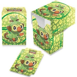 Pokemon: Pudełko na Karty TCG - Sword & Shield - Galar Starters - Grookey