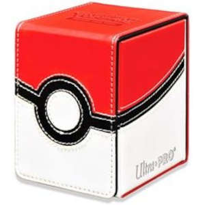 Ultra Pro Alcove Flip Box Pokemon TCG - Poke Ball