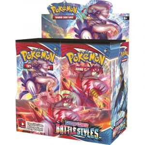 Karty Pokemon TCG: Sword & Shield Battle Styles - Booster Display Box