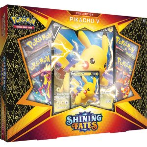 Karty Pokemon TCG: Shining Fates V Box - Pikachu V