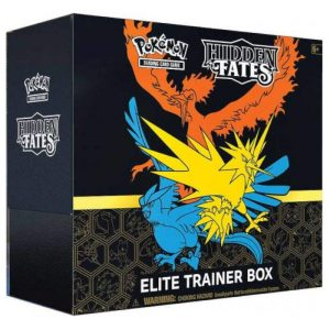 Karty Pokemon TCG: Hidden Fates - Elite Trainer Box