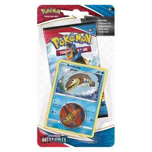 Pokemon TCG: Battle Styles - Checklane Blister - Arrokuda