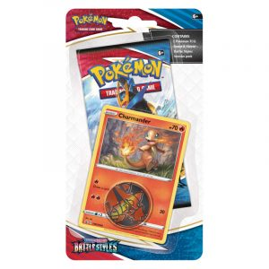 Pokemon TCG: Battle Styles - Checklane Blister - Charmander