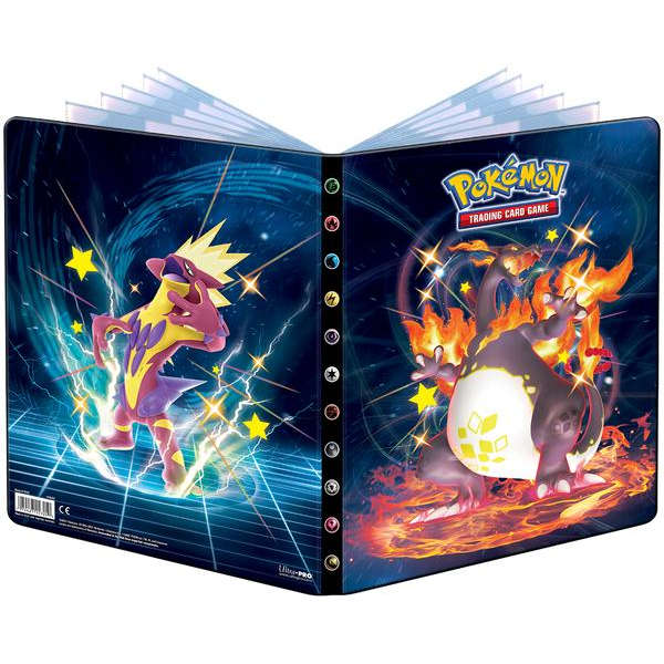 Pokemon TCG Sword & Shield Album Portfolio 9PKT - Shining Fates
